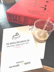FABDILab Digital Influencer Lab event