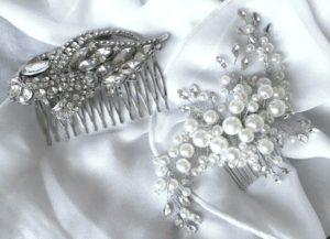 choosing the right bridal hair accessory