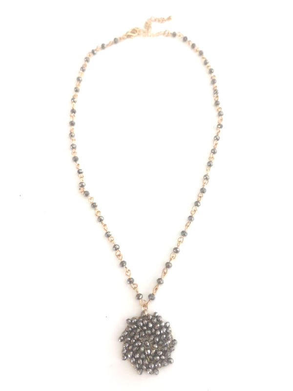 Hematite beaded necklace_960x1280